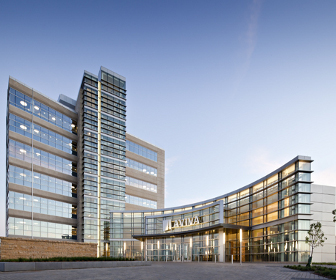 Aviva usa s hq becomes the largest leed gold certified for Certified building designer