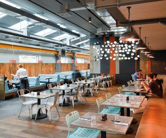 Blacksheepdesigned Jamies Italian restaurant unveiled in London