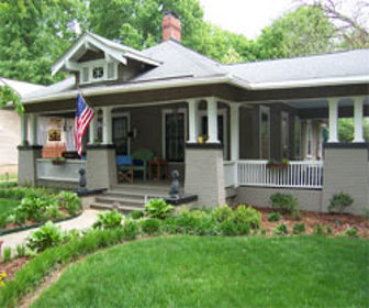 Chicago vintage bungalow undergoes green certified home for Green certified home