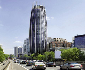 Cucumber Tower Construction In London Gets Go Ahead