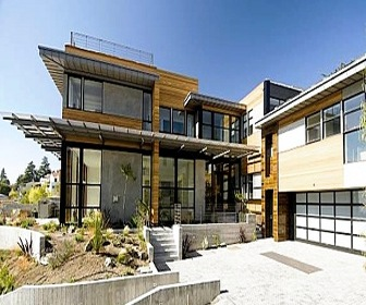Custom Home In Marin County Receives First LEED For Homes Platinum Certificat