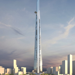 Ec harris mace to develop 1 2 billion kingdom tower for Ec harris dubai