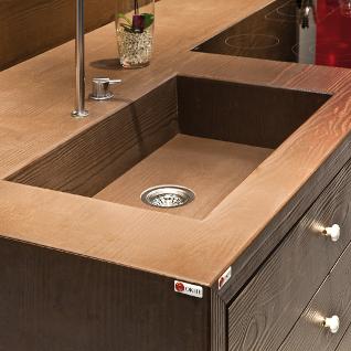 Effetto Legno Oak Work Surface From Okite Designcurial