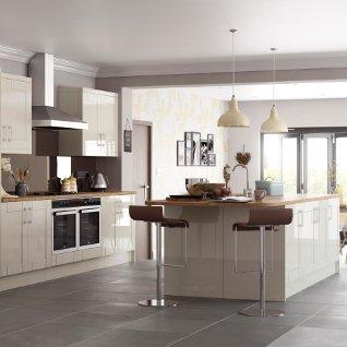 Ellis furniture presents new solar kitchen range