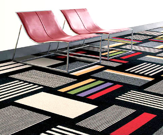 InterfaceFLOR presents floor carpet tiles