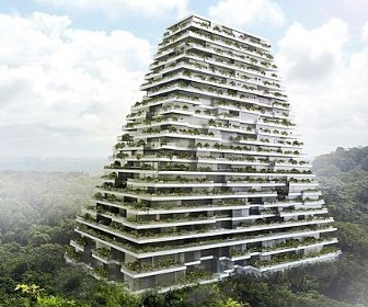 Lar Designs Pyramid Style Sustainable Complex In Mexico