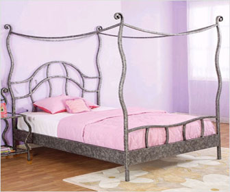 New Canopy bed design by Powell Furniture & New Canopy bed design by Powell Furniture - DesignCurial