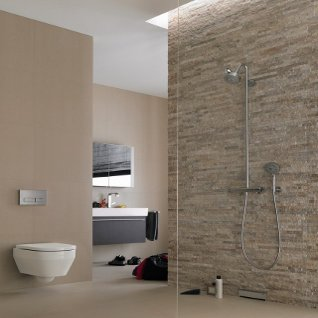 On the level team up with geberit to launch a new wet room - Decorer salle de bain ...