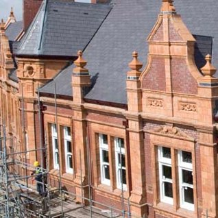 Renovation underway for old town hall in merthyr for In home design merthyr