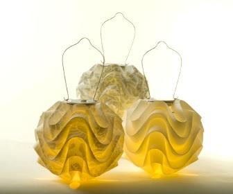 Soji Solar Lanterns From Allsop Home