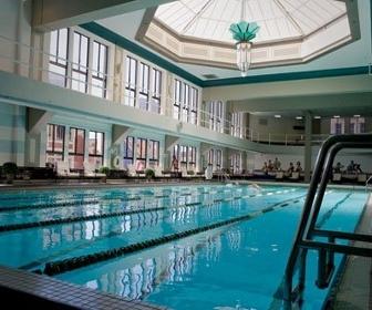 Unc unveils renovated bowman gray memorial indoor pool designcurial for Indoor swimming pool building regulations