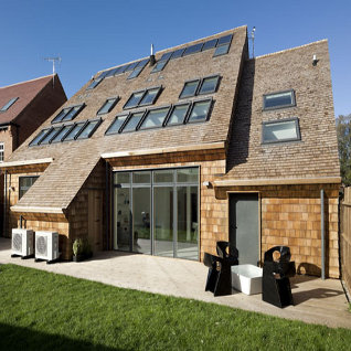 Velux group opens carbon neutral homes designcurial for Carbon neutral home designs