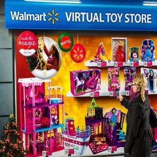 Walmart Mattel Open First Virtual Pop Up Toy Store In Canada Designcurial