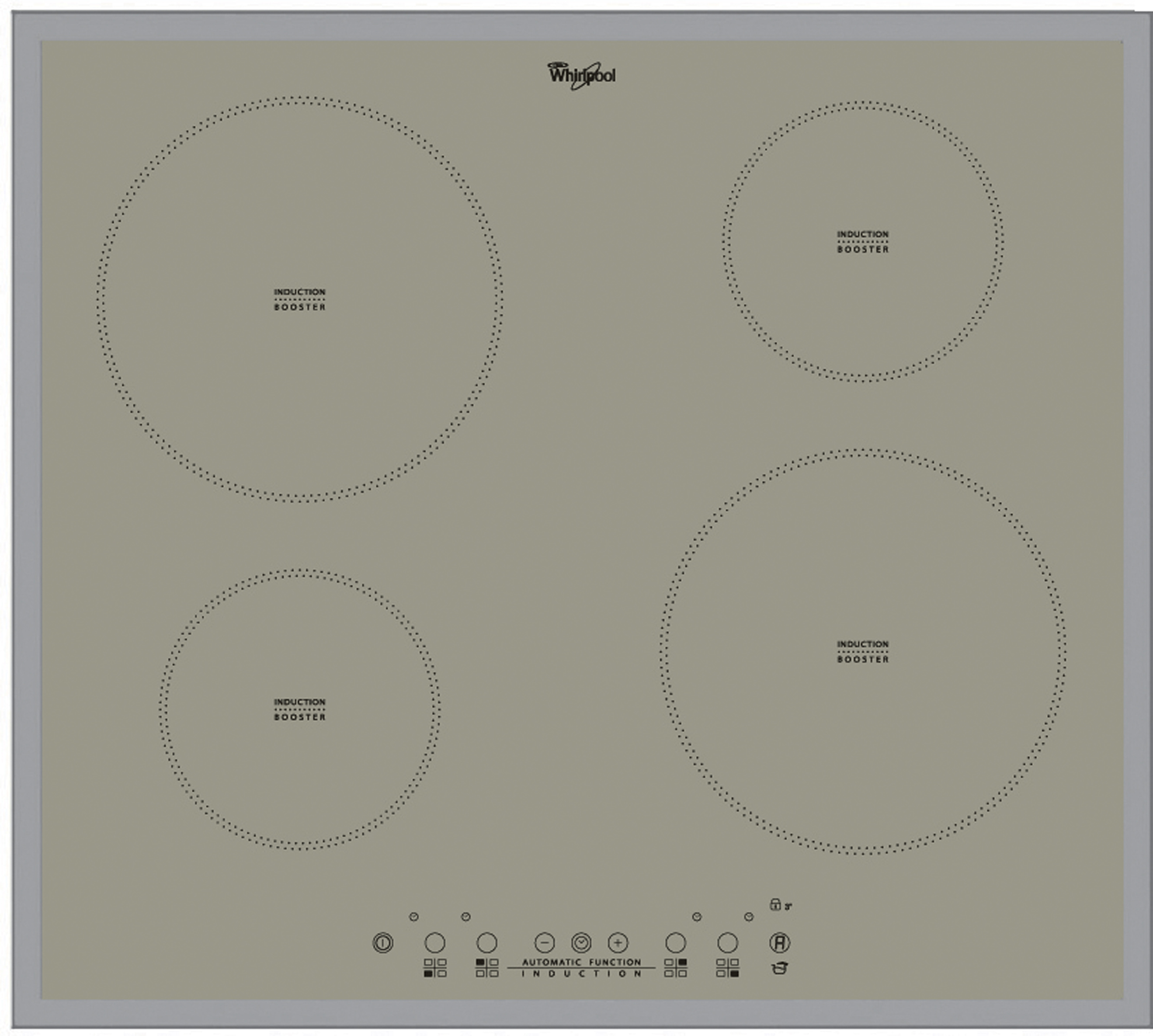 Whirlpool introduces silver finish to ACM 804/BA/S induction hob ...