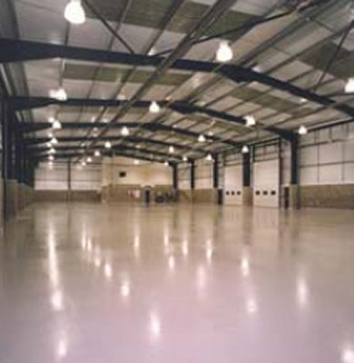 Commercial & Industrial Flooring - RonaFloor PU Coating and WB
